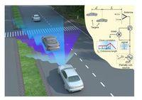 So erkennt das neue Schmalband-Radar Hindernisse.
