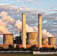 Kraftwerk: hoher CO2-Ausstoß in Afrika erwartet.
