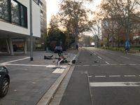 VU Langenbeckstraße Bild: Polizei