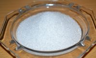 Fructose in kristalliner Form.