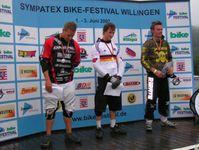Die Sieger der 4x DM Männer (v. links Sascha Meyenborg, Johannes Fischbach und Sascha Baier) Bild: Karl Koch / Extremnews