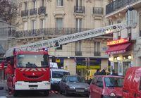 Frankreich: Pariser Feuerwehr im Einsatz