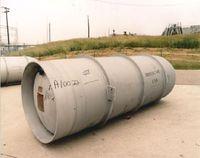 Uranhexafluorid: UF6-Tank