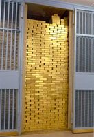 Goldlager der Federal Reserve Bank von New York