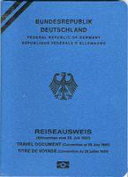 Reiseausweis für Flüchtlinge (Deutscher Konventionspass)