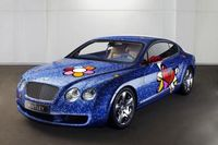 "Bentley Continental GT gestaltet von Romero Britto (c) ""obs/Bentley Motors Ltd."""