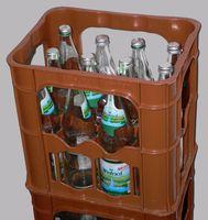 Mehrwegpfandflaschen in Pfandkiste