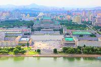Panoramablick auf Pjöngjang
