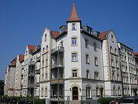 typische Miethäuser deutscher Großstädte aus der Zeit um 1900 in Erfurt Bild: Michael Sander / de.wikipedia.org