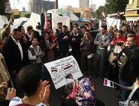 Demo am Tahrir: Gegen Restauration. Bild: flickr, Maged Helal