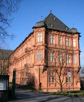 Ostflügel des Kurfürstlichen Schlosses in Mainz, Ort der Ausstellungsräume des Römisch-Germanischen Zentralmuseums