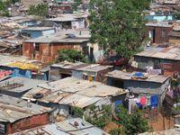 Elendsviertel in Soweto