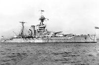 Schlachtschiff Malaya (Symbolbild)