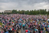 Proteste in Minsk am 6. September 2020