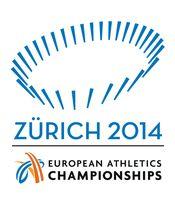 Logo der Leichtathletik-Europameisterschaften 2014