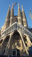 Die Sagrada Familia im Juni 2017