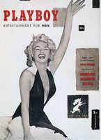 Playboy Cover der ersten Ausgabe vom Dezember 1953