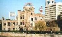 Atombombenkuppel (atomic bomb dome) in Hiroshima/Japan: Ruine der Industrie- und Handelskammer, Mahnmal und Weltkulturerbe der UNESCO. Bild: Marcus Tièschky / de.wikipedia.org