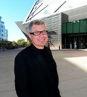 Daniel Libeskind vor seiner Erweiterung des Denver Art Museum