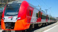 Selbstfahrender Lastotschka-Zug in Russland