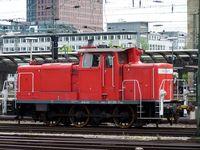 Rangierlok DB-Baureihe V 60 mit Stangenantrieb