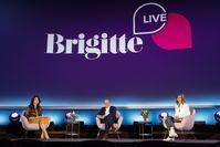 Brigitte Huber, Armin Laschet und Meike Dinklage bei BRIGITTE LIVE mit Armin Laschet Bild: Getty Images für BRIGITTE Fotograf: Franziska Krug