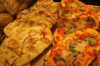Typisches Imbissprodukt aus der Bäckergastronomie