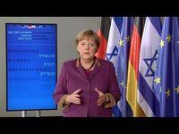 """Screenshot aus dem Youtube Video """"Deutschland an der Seite Israels"""""""