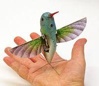 Spionage-Kolibri: Drohnen sind immer weniger von Vögeln zu unterscheiden. Bild: AeroVironment