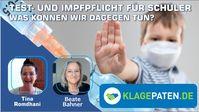 """Bild: SS Video: """" Test- und Impfpflicht für Schüler - Was können wir dagegen tun?"""" (https://www.bitchute.com/video/hMlyE6JYmZRL/) / Eigenes Werk"""