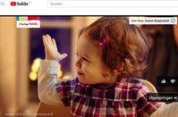 Werbung mit Kleinkind: Neue Regeln auch für YouTube-Kunden. Bild: youtube.com