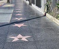 """Sterne auf dem """"Walk of Fame"""" in Hollywood. Bild: dts Nachrichtenagentur"""