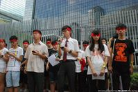 Hongkong: The arrangement of the 926 Class Boycott being announced by Scholarism