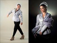 Farbwechsel-Kleid: eine von vielen Ideen. Bild: Ronald Borshan
