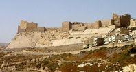 Ruinen der Burg Kerak