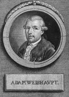 Adam Weishaupt, Gründer des Illuminatenordens