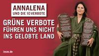 Die Kanzlerkandidatin Baerbock in der breiten Kritik (Symbolbild) Bild: INSM / Eigenes Werk