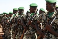 Mali: Malische Soldaten Bild: de.wikipedia.org