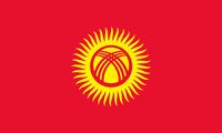 Flagge von Kirgistan
