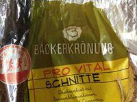 """Glockenbrot Bäckerei GmbH & Co. OHG ruft vorsorglich """"BÄCKERKRÖNUNG Pro Vital Schnitte, 500 g, MHD: 01.10.2018"""" in Bayern, Baden-Württemberg, Saarland und Rheinland-Pfalz zurück"""