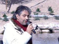 Andrea Bocelli bei einem Live-Konzert