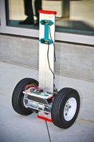 Prototyp: Kann auch Stufen steigen (Foto: UCSD Jacobs School of Engineering)