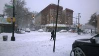 Juno: Snowfall in Brooklyn on January26