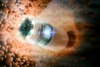 Endoskopie-Kapsel zur Dünndarm-Diagnose - entwickelt in dem Projekt Endotrace.