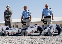 Deutsche Polizisten bei der Ausbildung Afghanischer Sicherheitskräfte