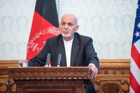 Ashraf Ghani (2017), Archivbild