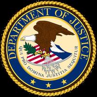 Siegel des Justizministerium der USA