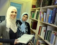 Islamische Studenten (Symbolbild)