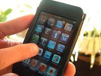 iPhone: Smartphone-Apps oft Sicherheitsgefahr. Bild : flickr.com/ilamont