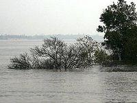 Versunkenes Inselchen im Golf von Bengalen. Bild: EIKE